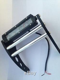 Yamaha Banshee LED Front Bumper Black Anodized Aluminum